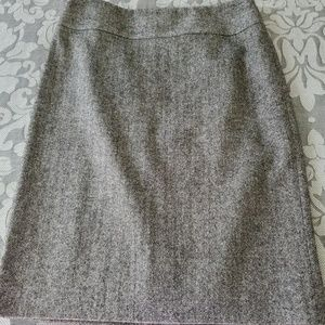Banana Republic gray tweed pencil skirt size 4